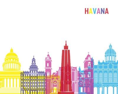 Наклейка Гавана горизонт поп