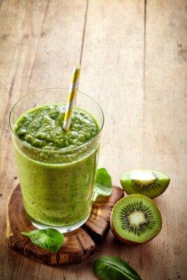 Наклейка Здоровый зеленый коктейль