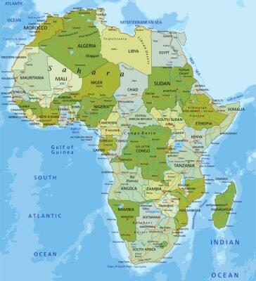 Наклейка Африка.