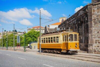 Наклейка Исторический трамвай, Порту