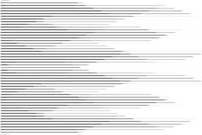 Наклейка Горизонтальная линия полутонов с градиентным эффектом. Шаблон для фона и стилизованных текстур.