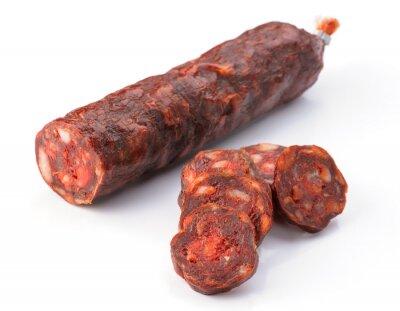 Наклейка Пиренейский вырезать колбаса, изолированных на белом