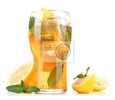 Чай гуарана арктика с мятой льдом лимоном