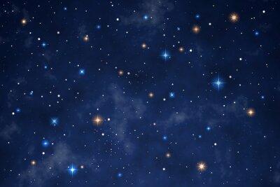 Наклейка Illustration of a beautiful night sky