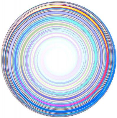 Наклейка иллюстрация абстрактного Мандала