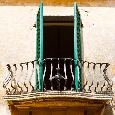 Наклейка Итальянский Балкон