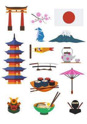 Наклейка Японский набор Культура