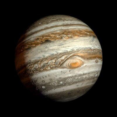 Наклейка Юпитер