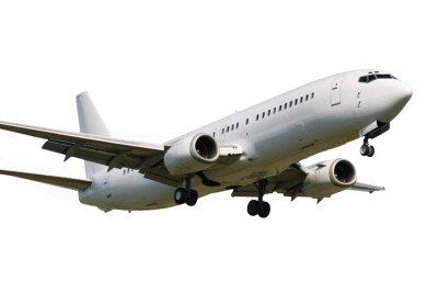 Наклейка Посадка самолета