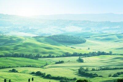 Наклейка пейзаж в Тоскане, Италия