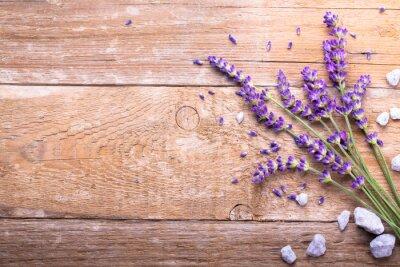 Наклейка Lavendel Auf Holz