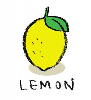 Наклейка Лимон