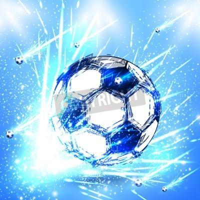Наклейка свет этап футбол
