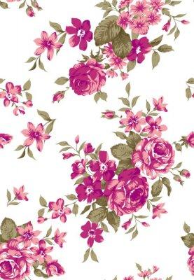 Наклейка Ливия цветочный узор