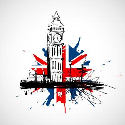 Наклейка Лондон!