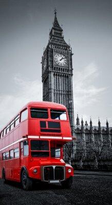 Наклейка Автобус унд Лондон Биг Бен