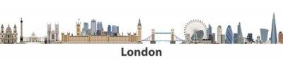 Наклейка Городской пейзаж Лондона