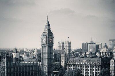 Наклейка Лондон Вестминстер