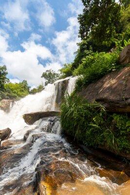 Наклейка Mae Klang водопад, Дойинтанон национальный парк, Таиланд