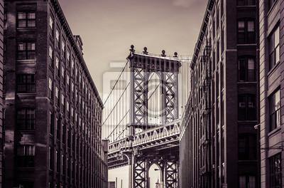 Наклейка Манхэттенский мост