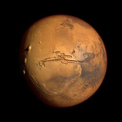 Наклейка Марс