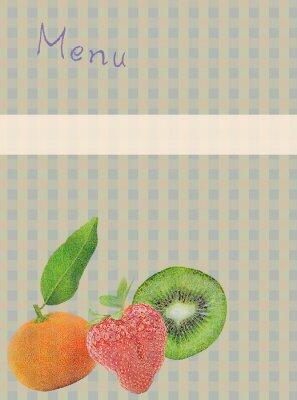 Наклейка Фон меню
