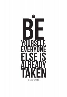 Наклейка Motivational quotes poster
