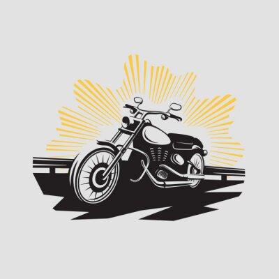 Наклейка Этикетки мотоцикла