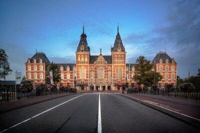 Наклейка Национальный музей Амстердама