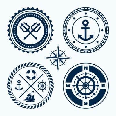 Наклейка Навигационные Эмблемы