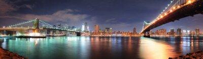 Наклейка панорама Нью-Йорк