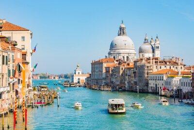 Наклейка Ночное небо в Венеции, Италия