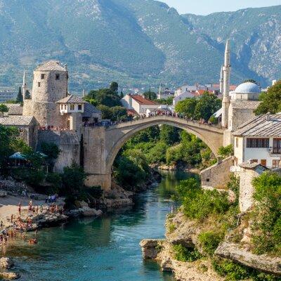Наклейка Старый мост в Мостаре