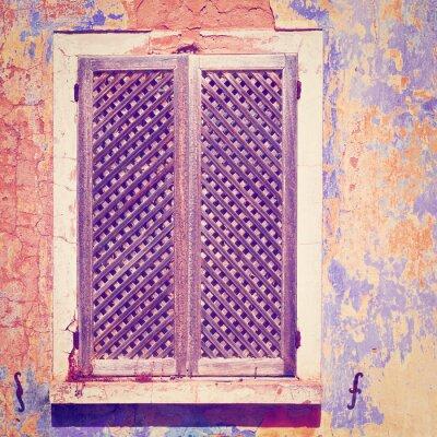 Наклейка Старый фасад