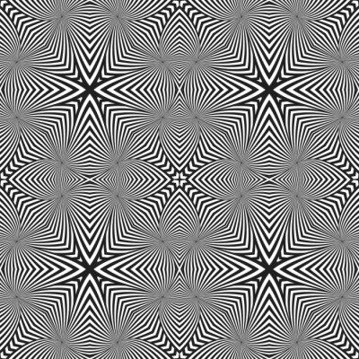 Наклейка оптическое искусство абстрактные полосатый бесшовные модели деко.