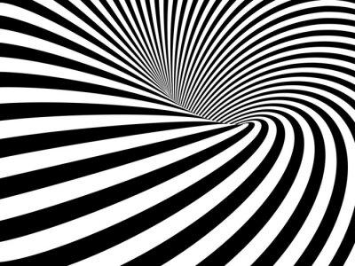Наклейка Оптические иллюзии Wormhole