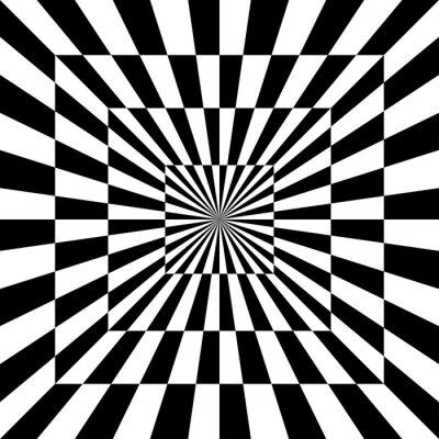 Наклейка Оптический шаблон