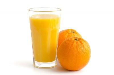 Наклейка Апельсиновый сок