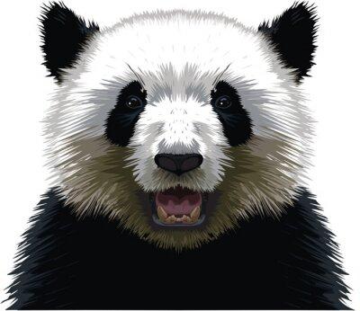 Наклейка PANDA - Buste