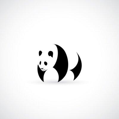 Наклейка значок Panda