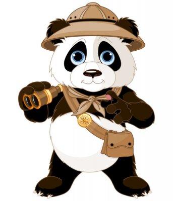 Наклейка Panda Safari Explorer,