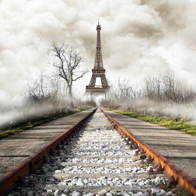 Наклейка Parigi в Treno урожая