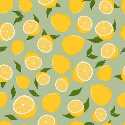 Наклейка Структура лимонов.