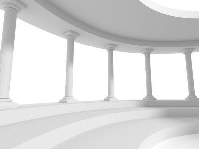 Наклейка столбы колонн архитектура дизайн фона