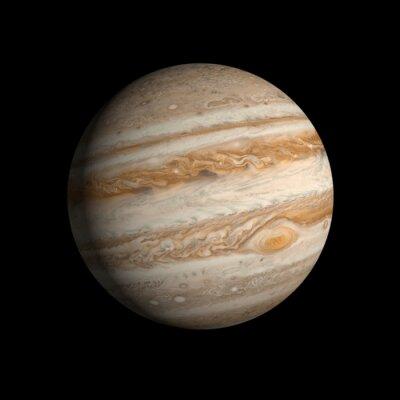 Наклейка Планета Юпитер