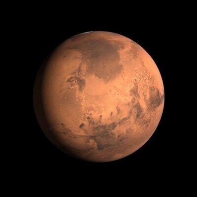 Наклейка Планета Марс