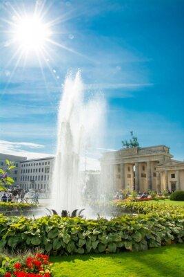 Наклейка Порт-де-Brandebourg, Бранденбургские ворота, Бранденбургские ворота, Берлин, Германия