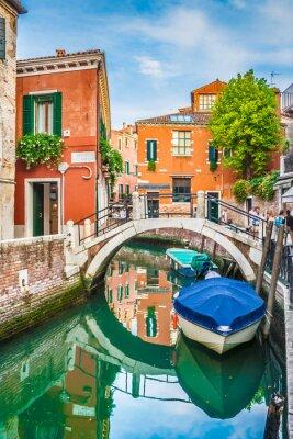 Наклейка Открытка вид Венеции, Италия