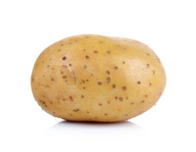 Наклейка Картофель на белом фоне