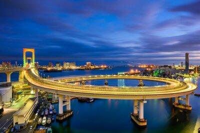 Наклейка Радужный мост Токио